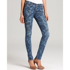 CITIZENS OF HUMANITY Paisley skinny jeans   25